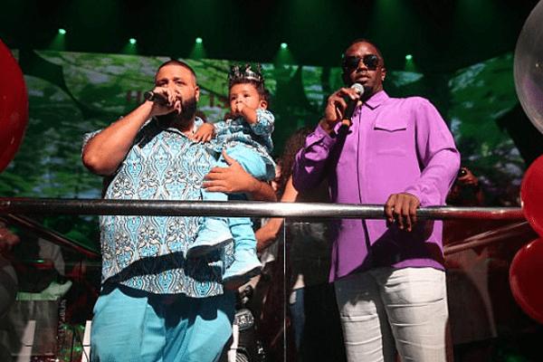 DJ Khaled with Puff Daddy