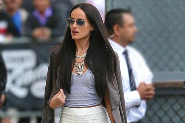 Pitbull's ex girlfriend Barbara Alba