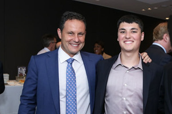 Brian Kilmeade and son Bryan Kilmeade