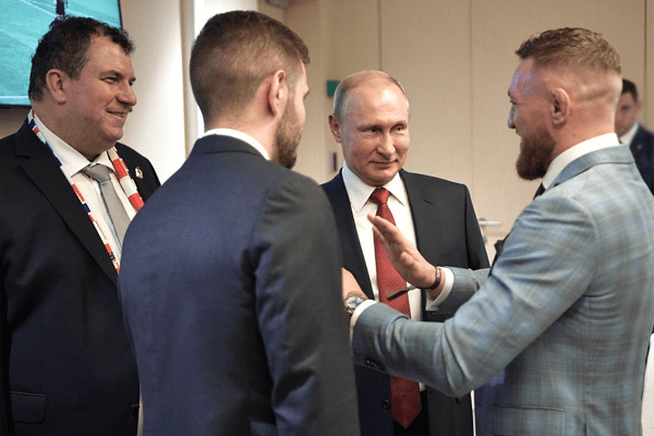 Connor McGregor and Putin