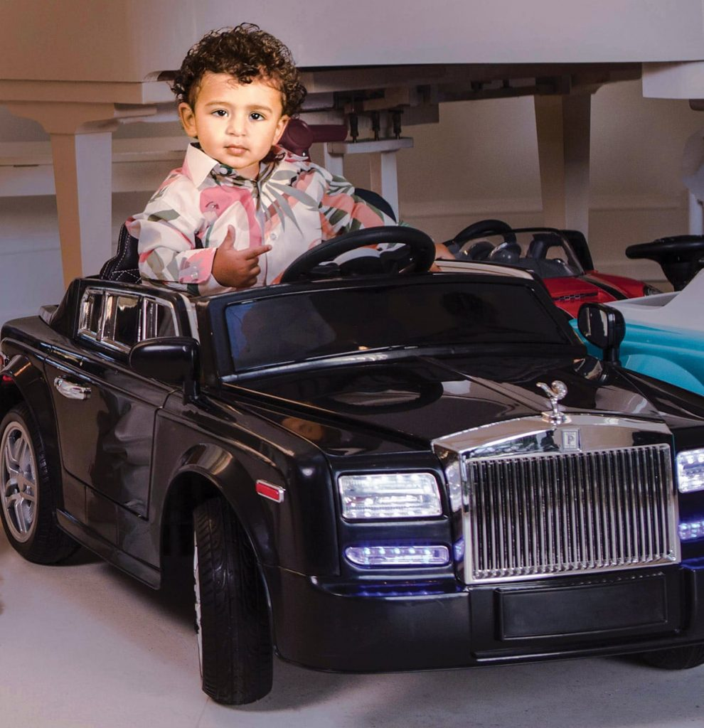 Asahd Tuck Khaled might be he richest celebrity kid