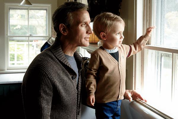 Dan with his son Everett