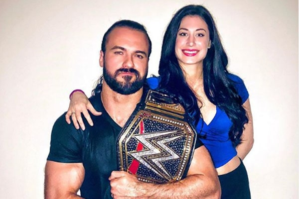 Drew McIntyre's wife is Kaitlyn Frohnapfel