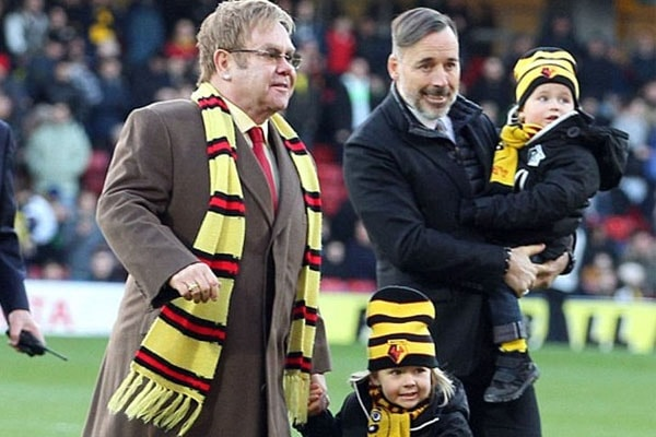 Elton John's sons
