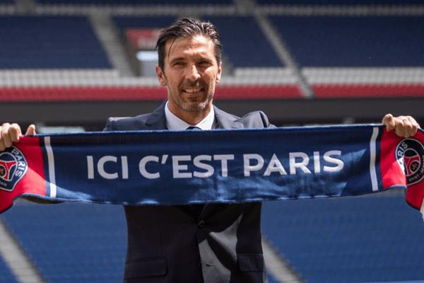 Gigi Buffon joins PSG