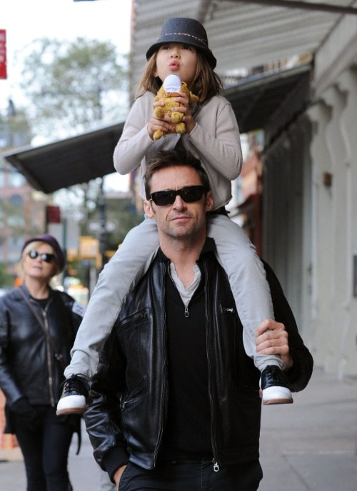 Hugh Jackman and daughter Ava Eliot Jackman share a perfect relationship