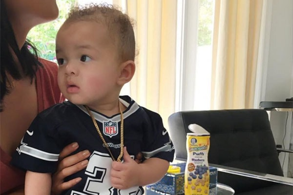 Jru Scandrick, Orlando and Draya Michele's son