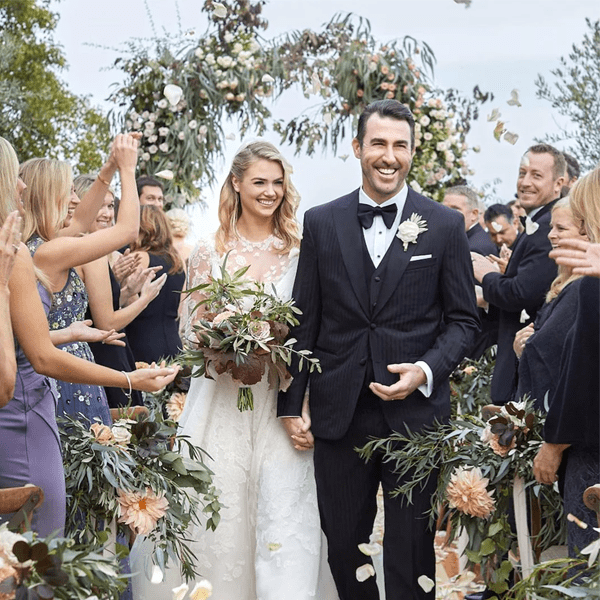 Kate and Justin married in 2017