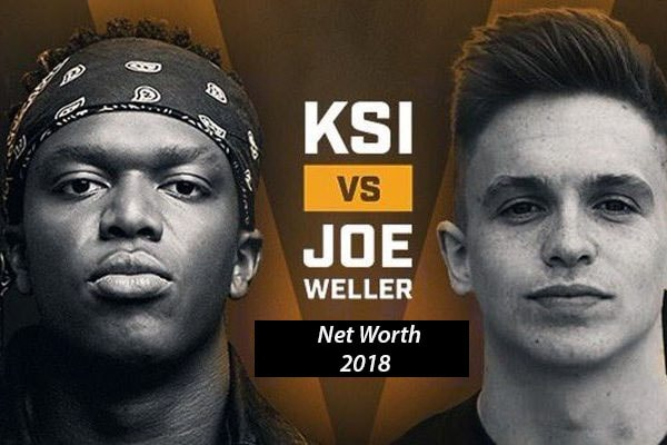 Net Worth of KSI and Joe Weller