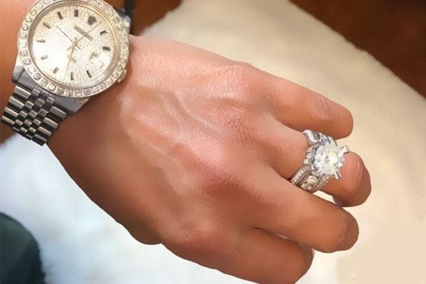 Karlie Redd's engagement ring