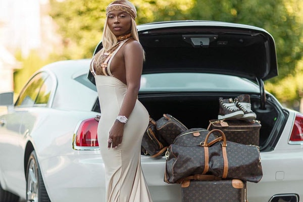 Kash Doll's Rolls Royce Ghost