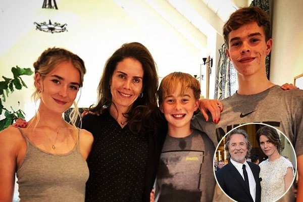 Kelley Phleger's Children and husband