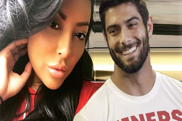 Kiara Mia and Jimmy Garoppolo