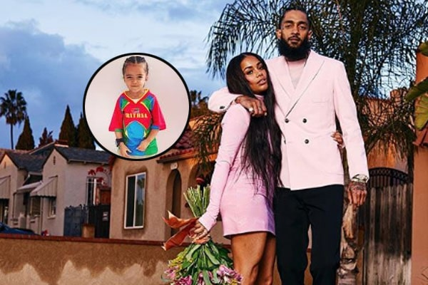 Nipsey Hussle's son, Kross Asghedom