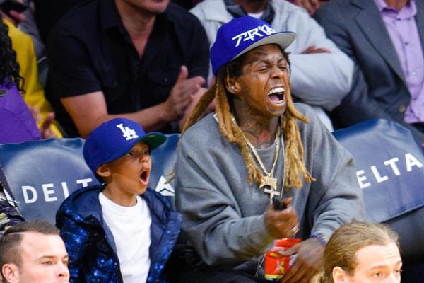 Lil Wayne's son Cameron Carter
