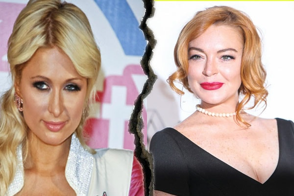 Lindsay Lohan Paris Hilton feud