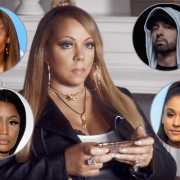 Mariah Carey's Feud With Ariana Grande, Jennifer Lopez, Nicki Minaj and Eminem
