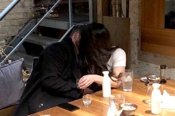 Natalie Negrotti and Johnny Bananas Kissing