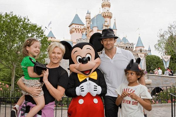 Hugh Jackman and Deborra's children Oscar Maximilian, Ava Eliot