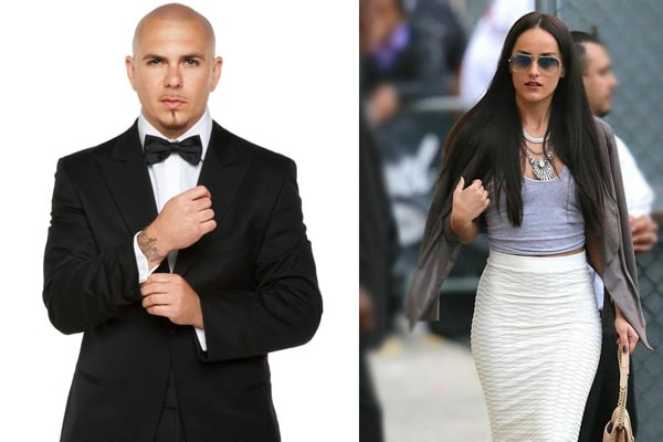 Pitbull's ex-girlfriend Barbara Alba