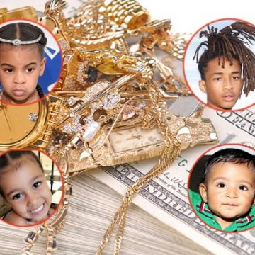 Top 10 Richest and Powerful Celebrity Babies in 2018 | Fashion and Lifestyle