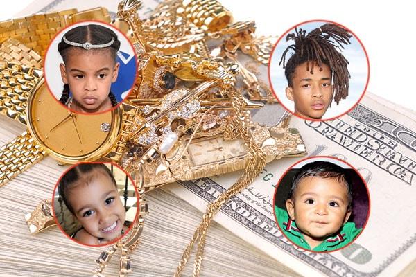 10 Richest Celebrity Kids of 2018