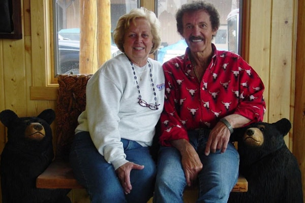 Richard Petty and his wife