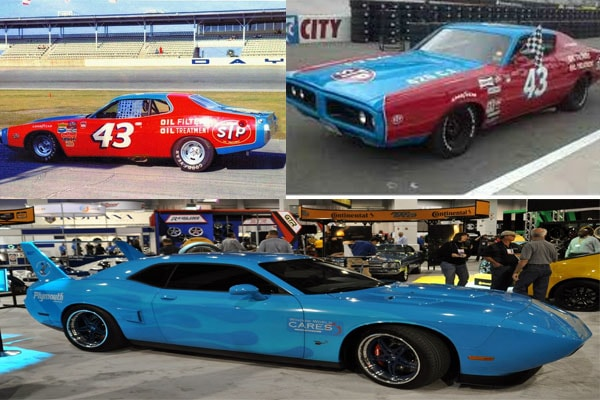 Richard petty owns many cars