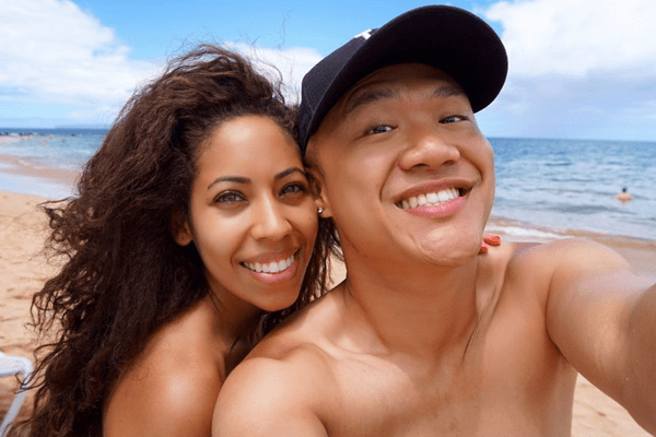 Timothy Delaghetto and girlfriend Chia Habte wedding
