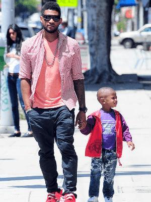 Usher's son Naviyd Ely Raymond