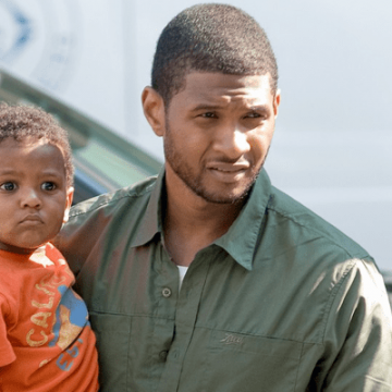 Meet Naviyd Ely Raymond, Son of R&B Singer Usher and Tameka Foster