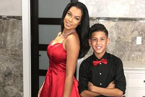 Zashia Santiago and her son Isaiah