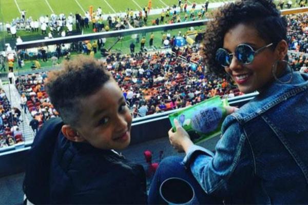 Alicia Keys son Egypt Daoud Dean