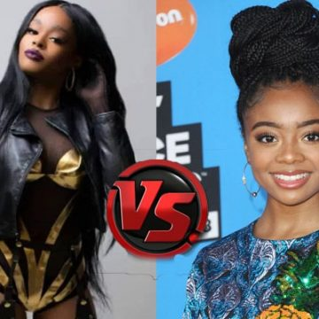Azealia Banks Twitter Feud With Disney's 14 Years Old Skai Jackson Over Zayn Malik