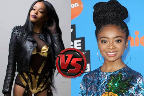 Azealia Banks and Skai Jackson feud
