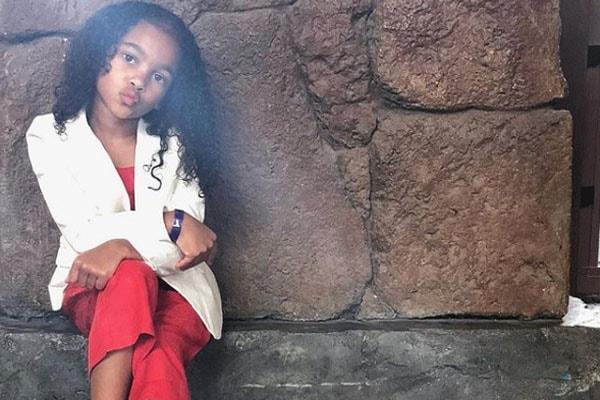 Bow Wow's daughter Shai Moss