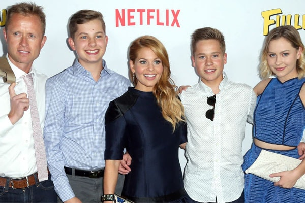 Candace Cameron Bure's sons