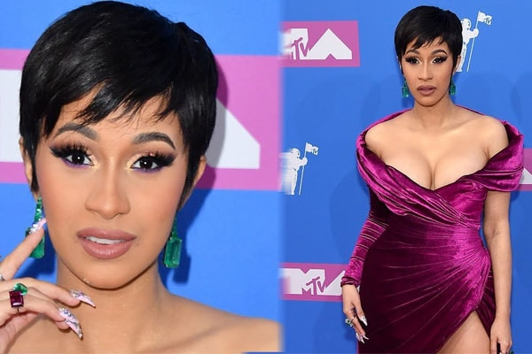 Cardi B's $4 million Jewelry and designer clothes.