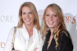 Catherine Oxenberg with her daughter India Oxenberg.