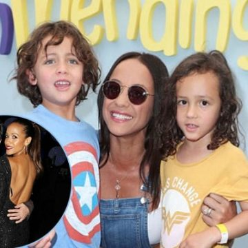 Dania Ramirez and Bev Land's Twins Gaia Jissel and John Aether Ramirez Land are Too Adorable