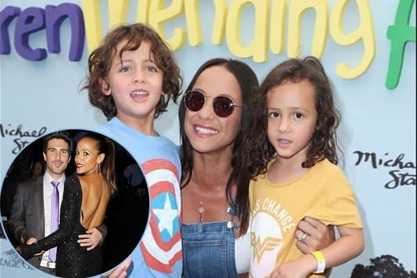 Dania Ramirez and Bev Lands twin children