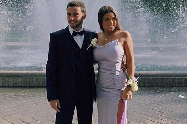 Kelly Ripa's daughter during her prom