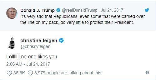 Donald Trump Feud