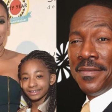 Meet Angel Iris Murphy Brown – Eddie Murphy's Daughter With Ex-Partner Mel B
