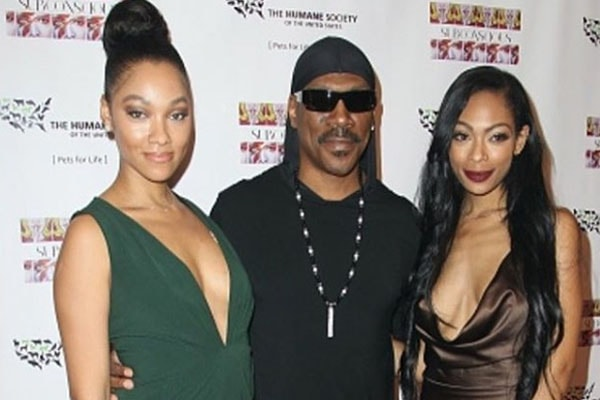Hot daughters of Eddie Murphy