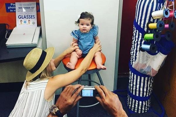 Chris D'Elia's Ex-Wife Emily Montague with daughter Ava James