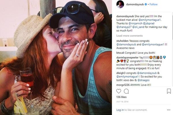Chris D'Elia's Ex-Wife Emily Montague married.