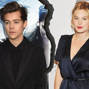 Harry Styles Single Again. Broke Up With Girlfriend Camille Rowe, His New High Profile Ex-Love