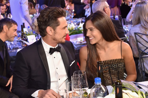 James Franco and his girlfriend Isabel Pakzad
