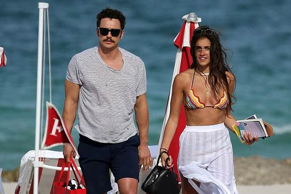 James Franco and girlfriend Isabel Pakzad